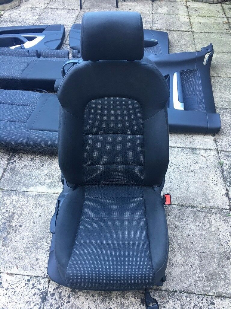 Audi A3 8P sport Seats Front and Rear inc all Door Cards