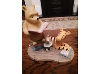 Pooh bear and gang collectable figureen ornament
