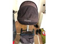SEAT UNIT include shopping bag for STOKKE pushchair