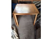 Free table to collect