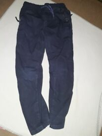 Boys (Next) Navy Blue Trousers Size 7 year