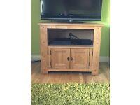 Halo Antibes oak tv unit