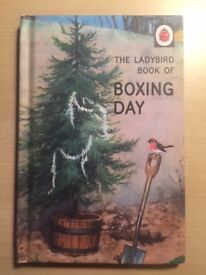 The Ladybird Book of Boxing Day (Ladybirds for Grown-Ups) Hardcover Book