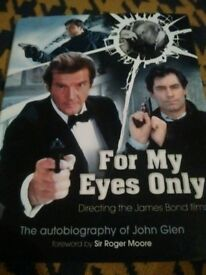 James Bond 007 hardback book - For My Eyes Only (oop expanded edition) by John Glen