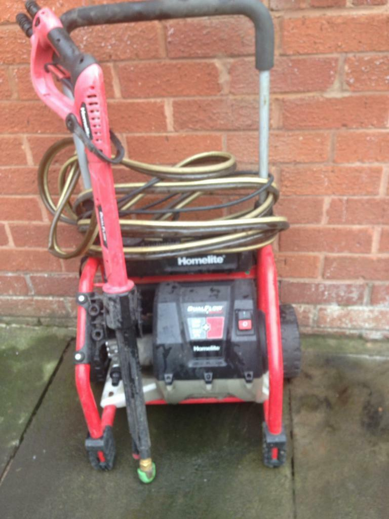Jet Washer Home-lite Dual flow