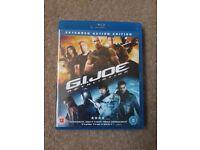 G.I Joe retaliation blu-ray.