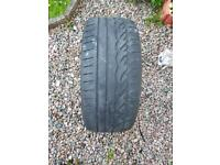 2x 245 40 R 18 Runflat part worn tyres ideally for E60,BMW 5 series