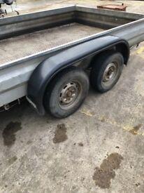 10 x 6 heavy duty trailer with ramp
