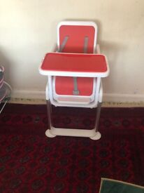 BABY HIGH/ FLOOR CHAIR (DINING) 2 in one