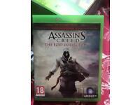 Assassins creed Ezio collection Xbox 1