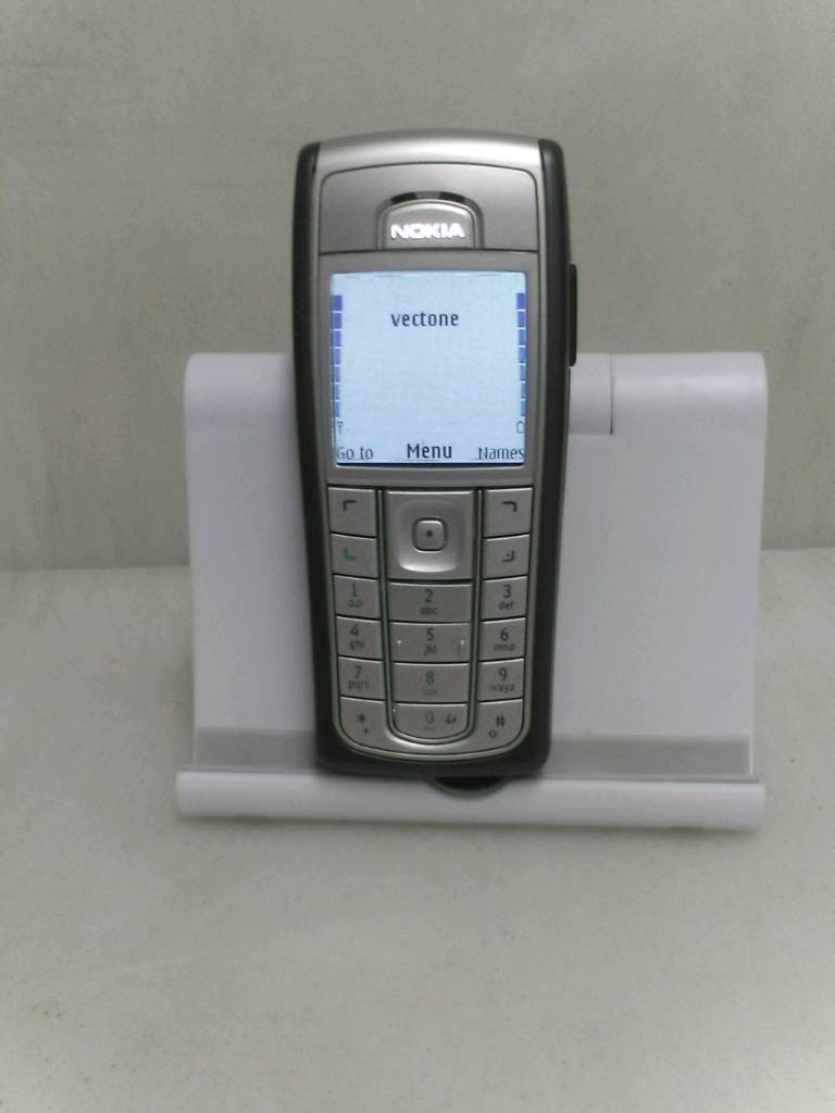 NOKIA 6230I 15LCD 6MB STORAGE MMC Card Slot 850mAh Battery NEW OTHER Black Silver