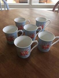 Cath Kidston china mugs
