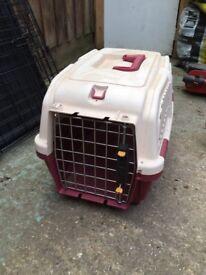 Cat transport box