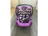 OBABY ZEAL GROUP 0+ CAR SEAT -FROM BIRTH - 13KG