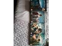 Harry Potter Films x 7
