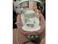 Vibrating Ingenuity Baby Chair with Music