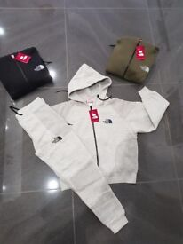 Kids northface tracksuits