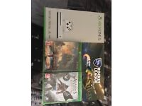 New Xbox One S 500gb + 3 games all sealed - £200