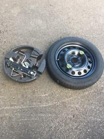 Bmw 5 series spare wheel