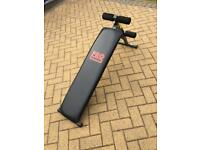 Used Power Pro Padded / Inclined Sit Up Bench
