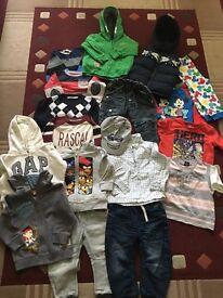 Lot of boy clothes 1.5-3y