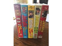5 VHS Jethro Tapes