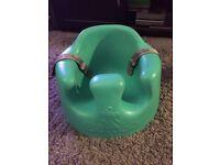 Bumbo seat, baby walker, play matt