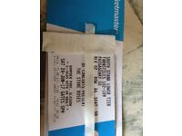 Discount price 3x Stone Roses Tickets Glasgow lower tier