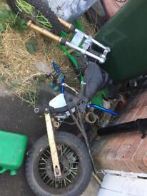 Pit bike 140 big valve