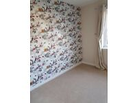 2 bed unfurnished house for rent close to airport/road links/train