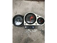 Kawasaki zx7r speedo clocks