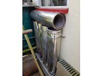 5 stainless steel flue pipe