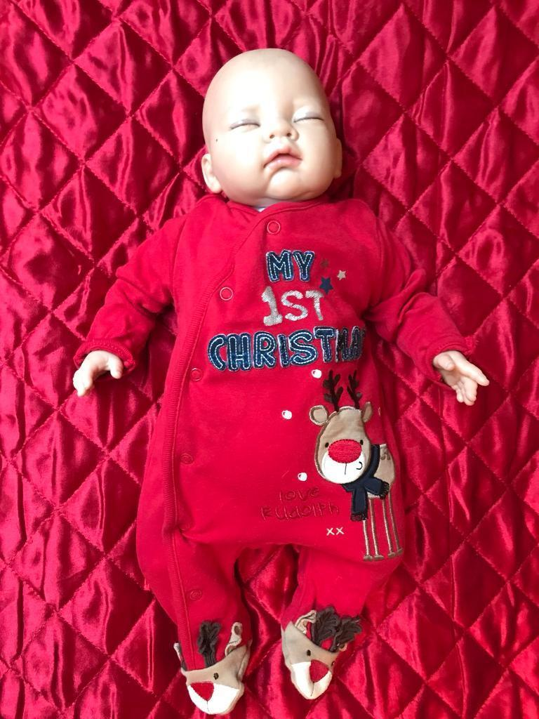 Newborn/Reborn Real Life Baby Doll - Hand painted