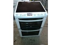 **JAY'S APPLIANCES**ZANUSSI**ELECTRIC COOKER**DOUBLE OVEN/GRILL**60cm**GOOD CONDITION**DELIVERY*