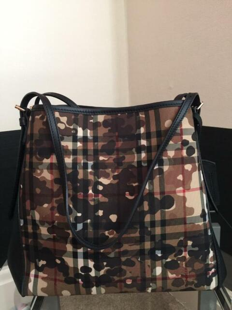 cabbf06710db Burberry horseferry camouflage bag limited edition nearly new