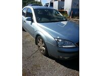 2004 FORD MONDEO 1.8 PETROL BREAKING FOR PARTS