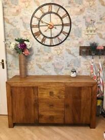 Stunning Next Dakota Range Mango Sideboard Cupboard Dresser