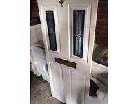 UPVC FRONT/BACK DOOR INSERT PANEL