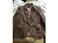 H&M Skirt Suit Size 10