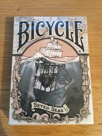 Brain Vessel Playing Cards Seven Seas Bicycle
