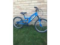 Boys Trax Mountain Bike 20inch Wheels