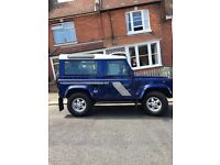 GREAT example of a land rover defender car