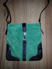 Black and green bag