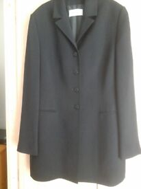 Ladies black windsmoor blazer size 14,new