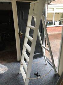 White A Frame Ladders