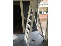 White A Frame Ladders