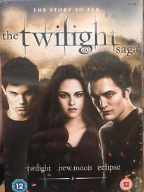 Twilight saga dvd still in wrapper £10
