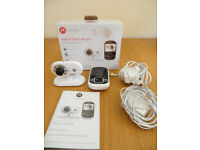 Motorola video baby monitor MBP26