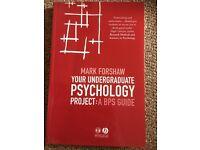 Undergraduate psychology project: BPS GUIDE