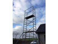 18 ft Scaffolding Tower - lightweight platform
